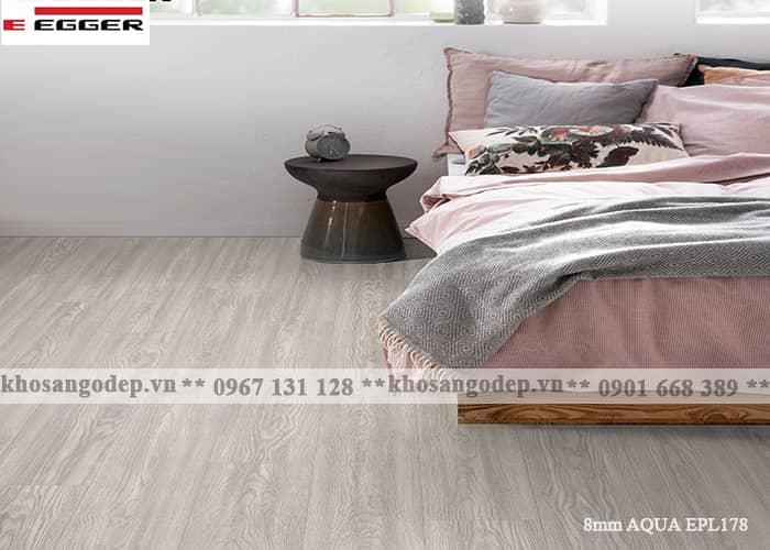 Sàn gỗ Egger 8mm aqua EPL178