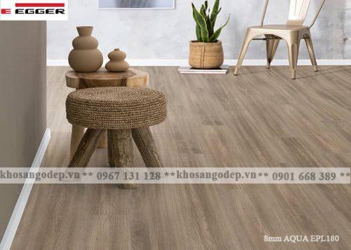 Sàn gỗ Egger Aqua 8mm EPL180