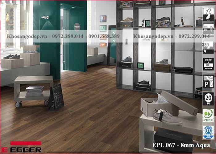 Sàn gỗ EEGGER EPL 067 – 8mm