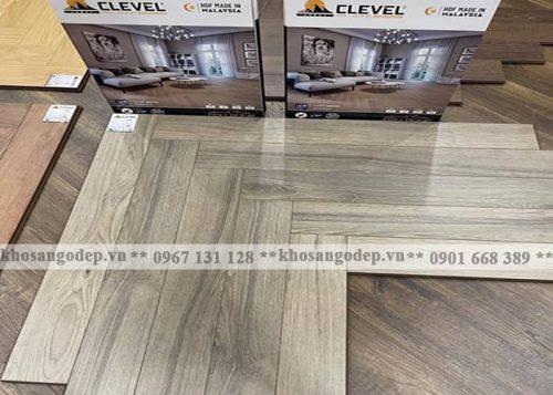 Sàn gỗ xương cá Clevel F683