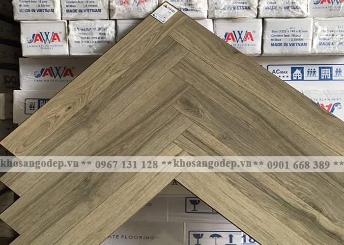 Sàn gỗ xương cá Clevel F683 tại Hà Nội