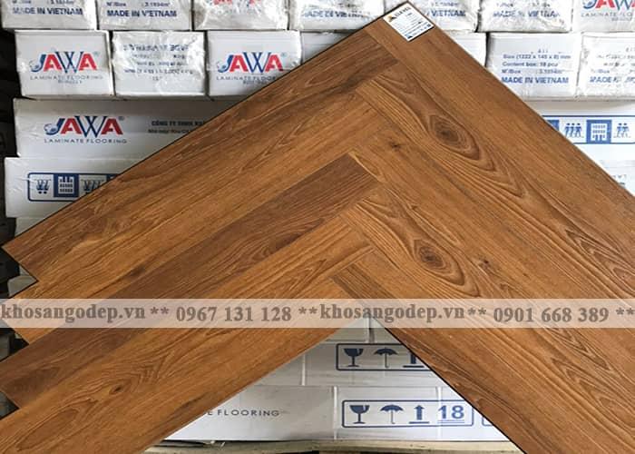 Sàn gỗ xương cá Clevel F685 tại Hà Nội