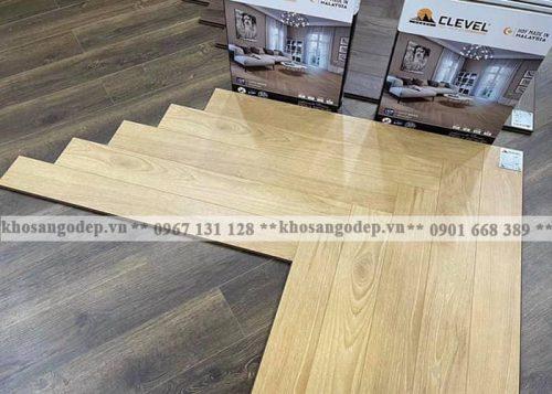 Sàn gỗ xương cá Clevel F687