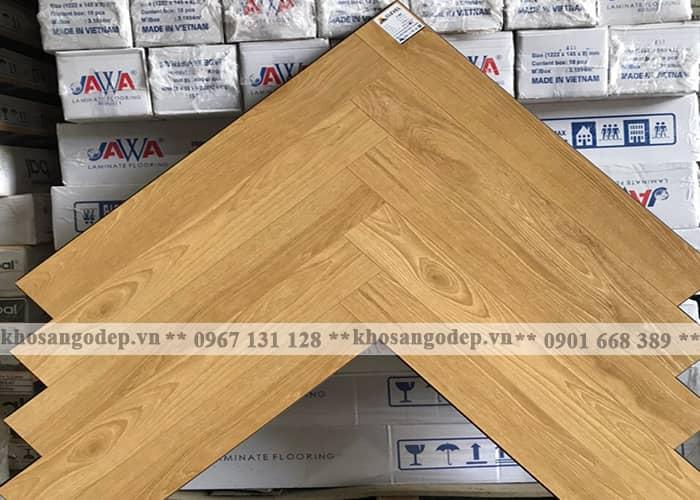 Sàn gỗ xương cá Clevel F687 tại hà Nội
