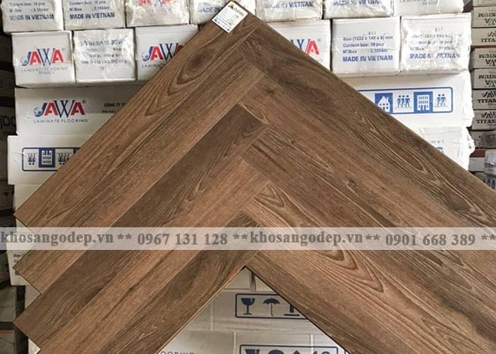 Sàn gỗ xương cá Clevel F689 tại Hà Nội