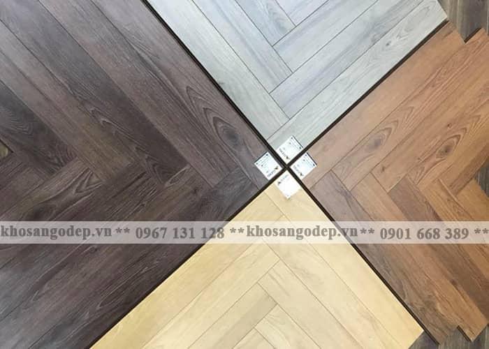 Sàn gỗ xương cá Clevel tại Hà Nội