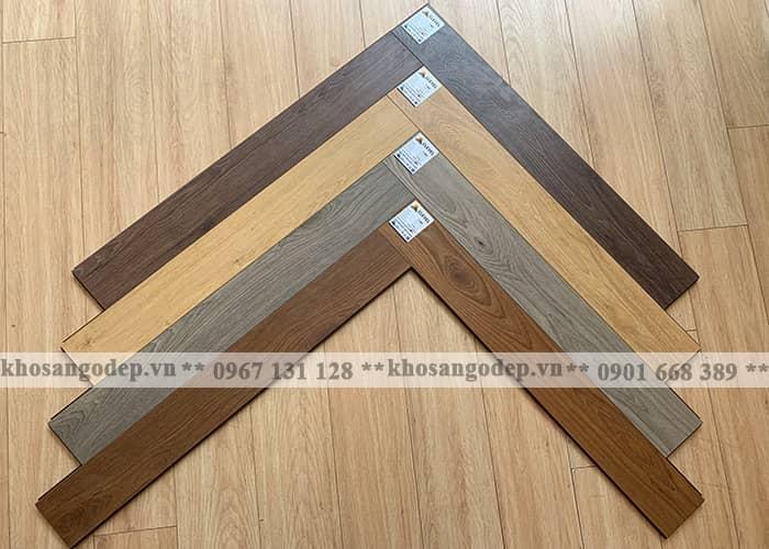 Các mã màu sàn gỗ xương cá Clevel