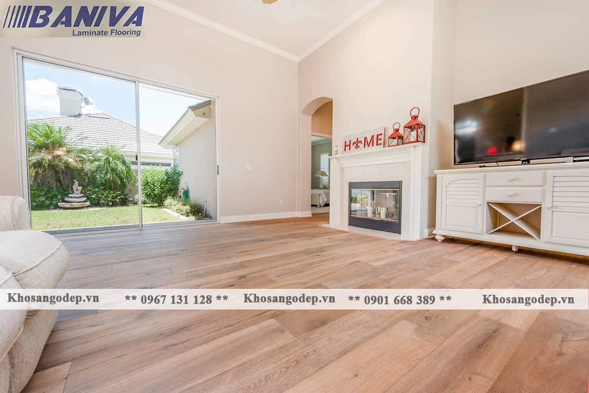 Sàn gỗ công nghiệp Baniva