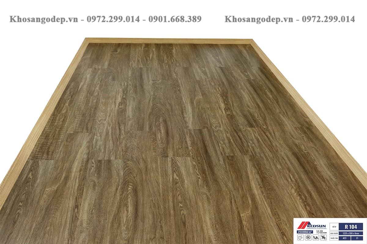 Sàn gỗ Redsun R104