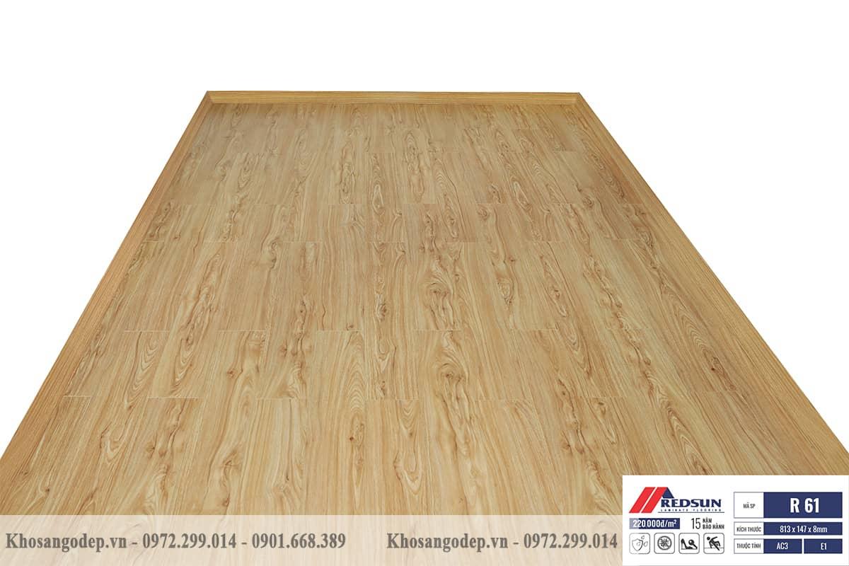 Sàn gỗ Redsun R61