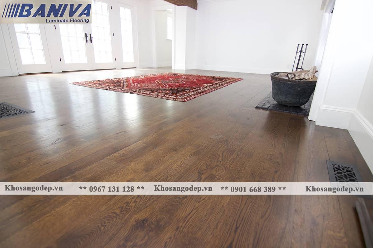Thi công sàn gỗ Baniva