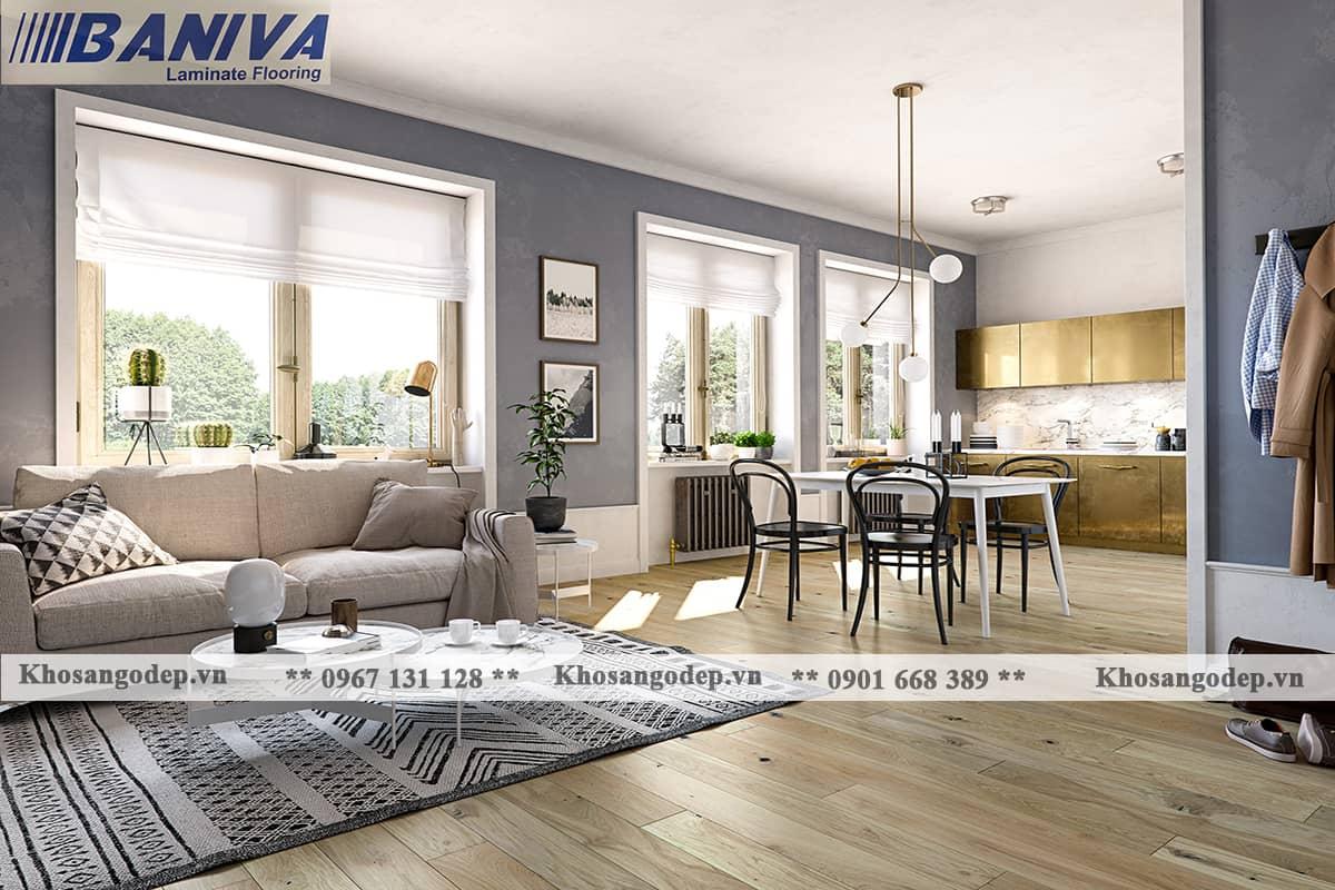 Báo giá sàn gỗ Baniva