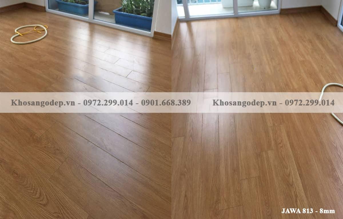 Sàn gỗ Cốt Xanh Jawa 813