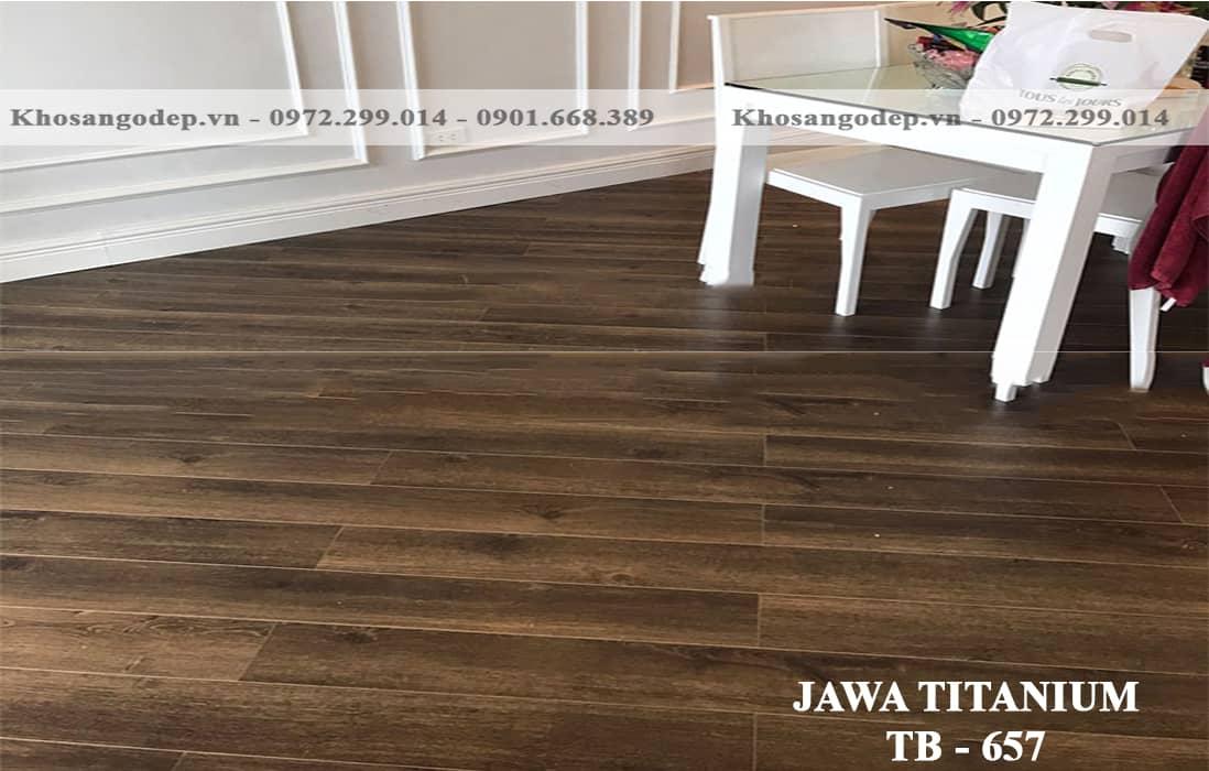 Sàn Gỗ Jawa Titanium TB657