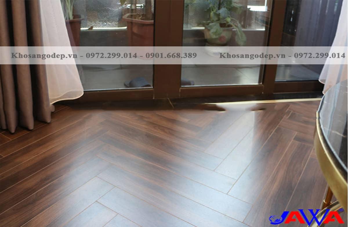 Sàn gỗ Cốt Xanh xương cá