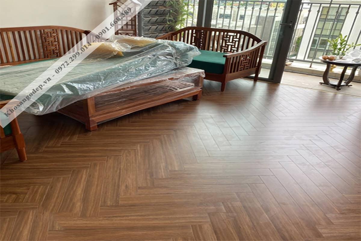 Sàn gỗ xương cá indonesia Jawa