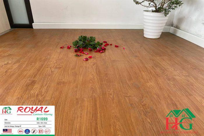Sàn gỗ màu cánh dán royal