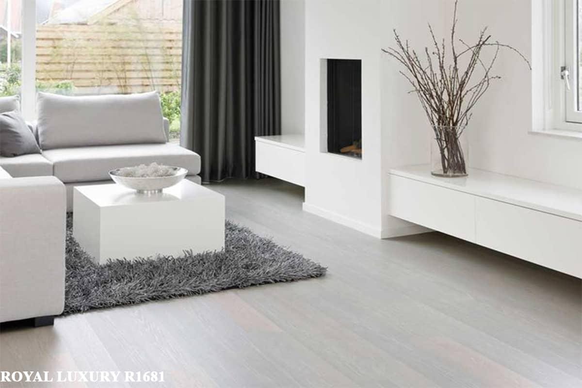 sàn gỗ màu trắng royal-R1681
