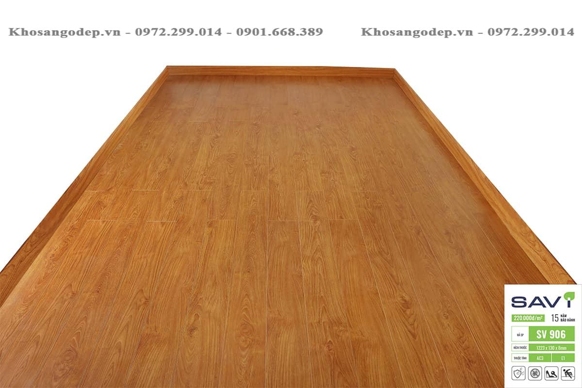 Sàn gỗ savi 8mm sv906