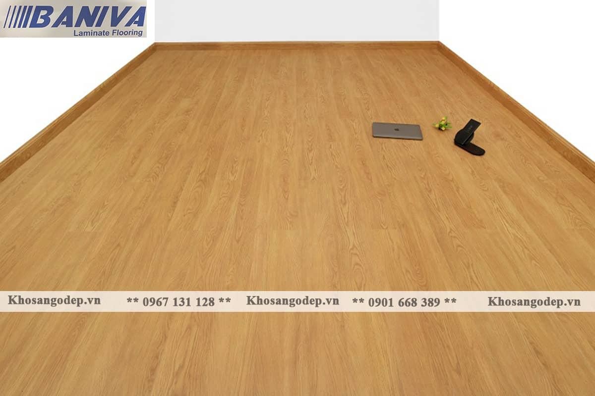 Sàn gỗ Baniva A368 12mm