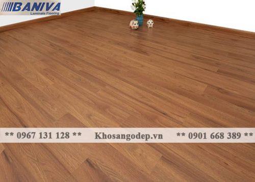 Thi công sàn gỗ Baniva A379
