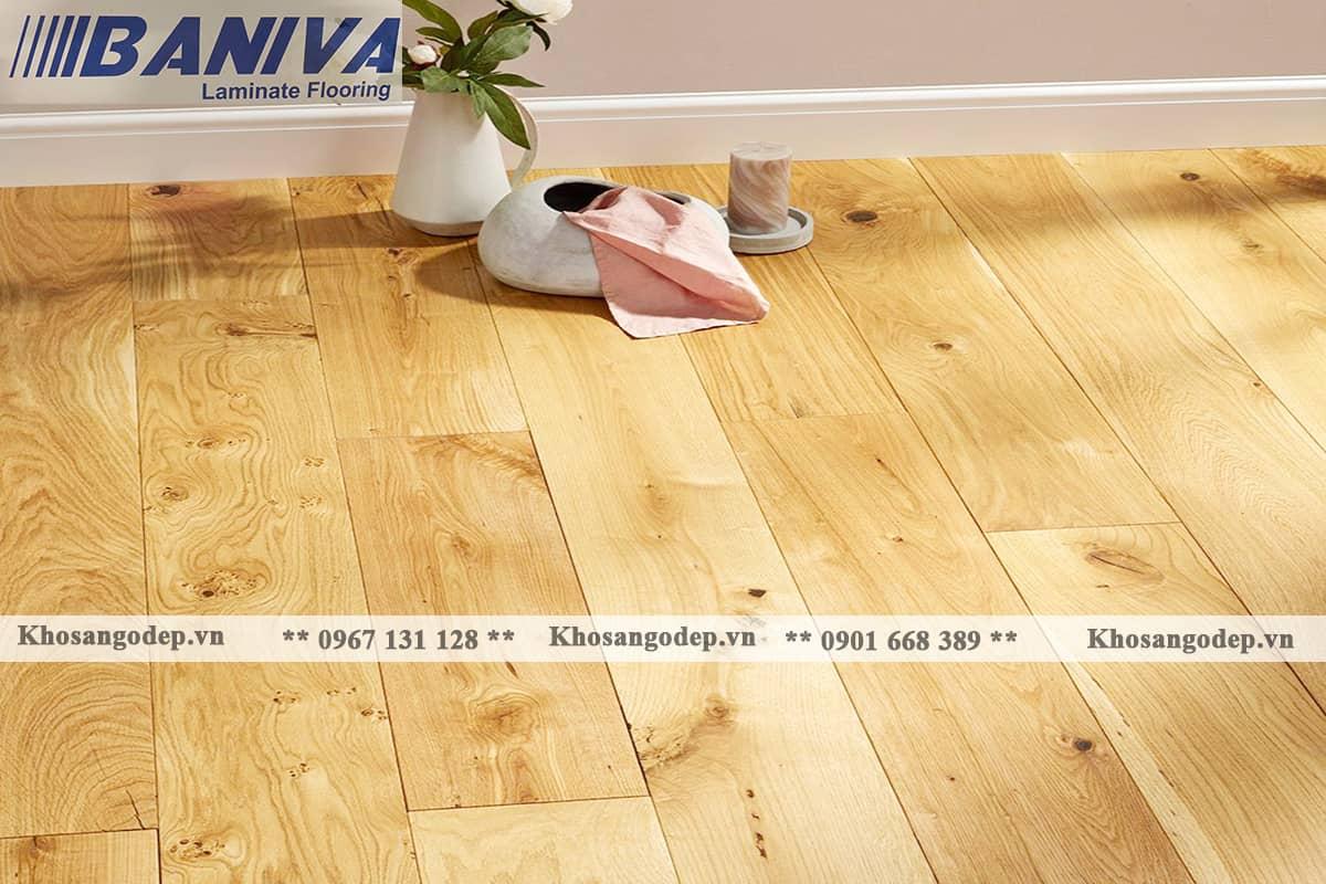 Sàn gỗ Baniva A380 12mm