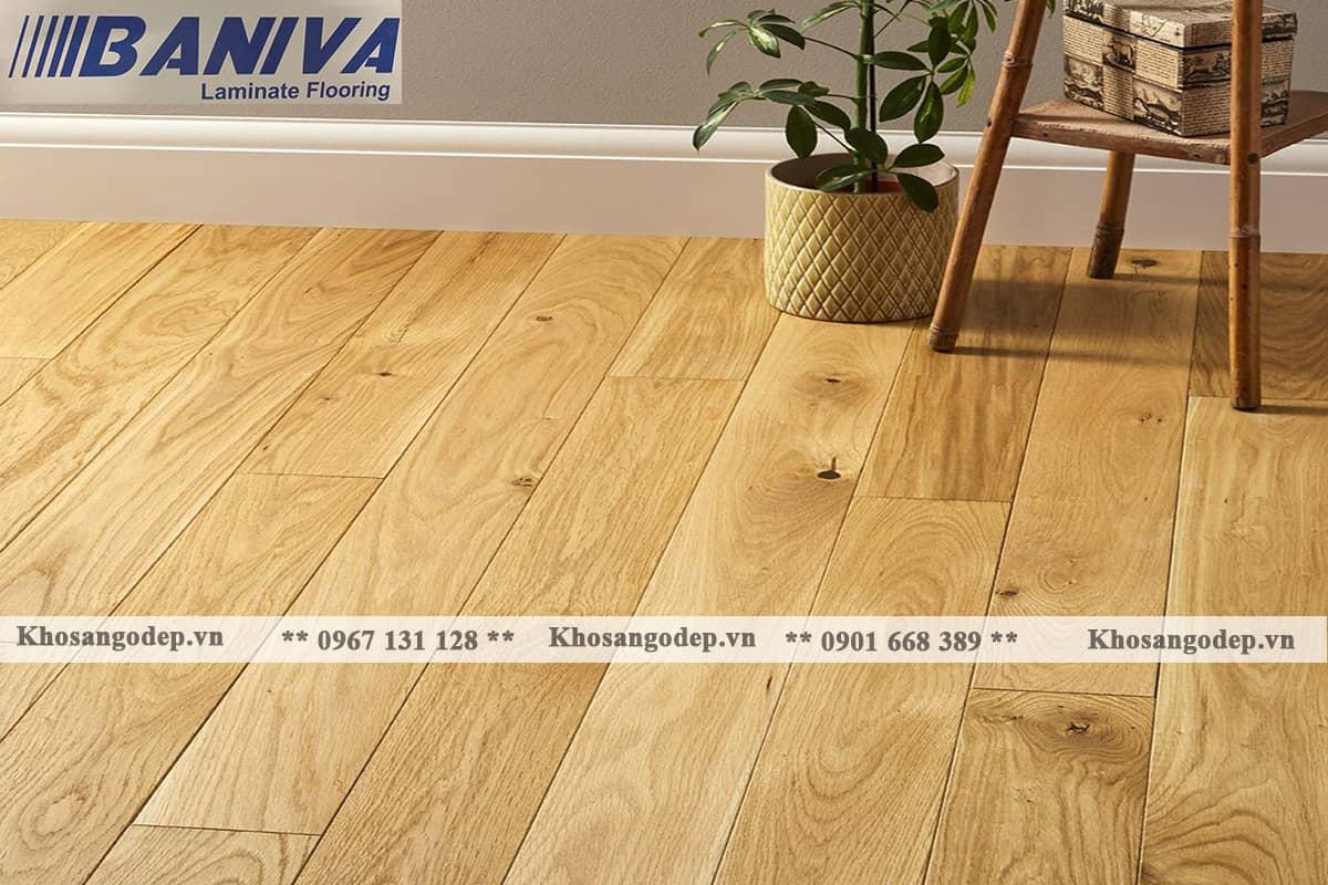 Sàn gỗ cốt xanh Baniva A380