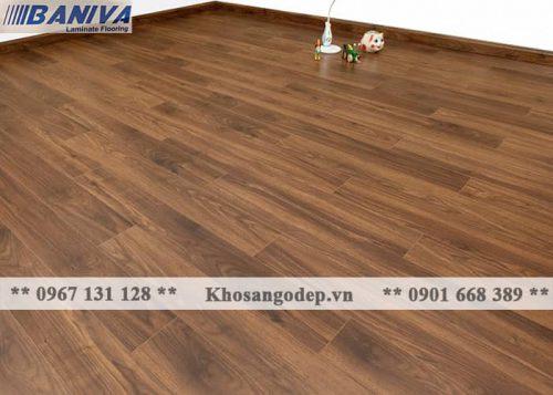 Thi công sàn gỗ Baniva A390