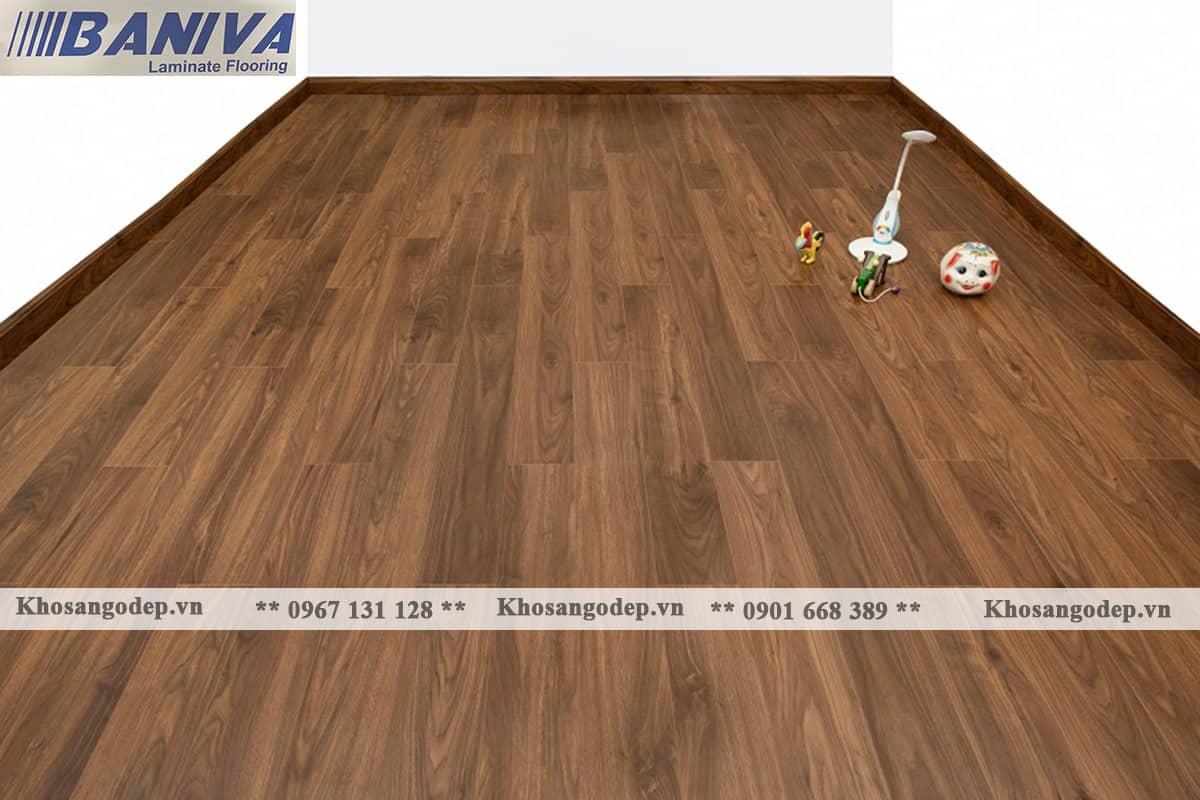 Sàn gỗ cốt xanh Baniva A390