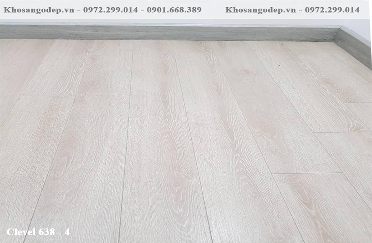 Báo giá sàn gỗ Clevel