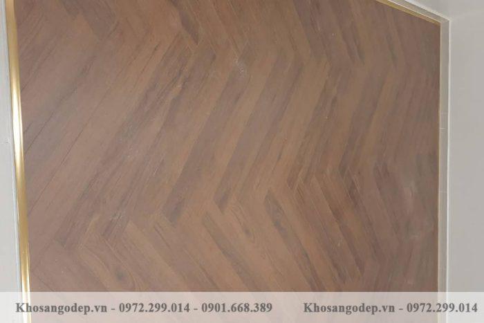 Sàn gỗ xương cá Clevel F685