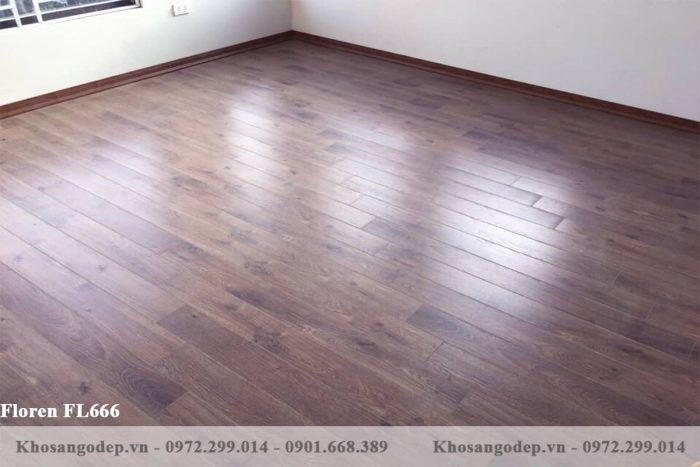 Sàn gỗ Floren FL666 12mm