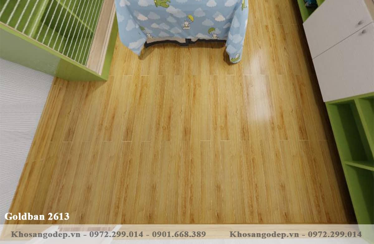 Sàn gỗ Goldban 2613