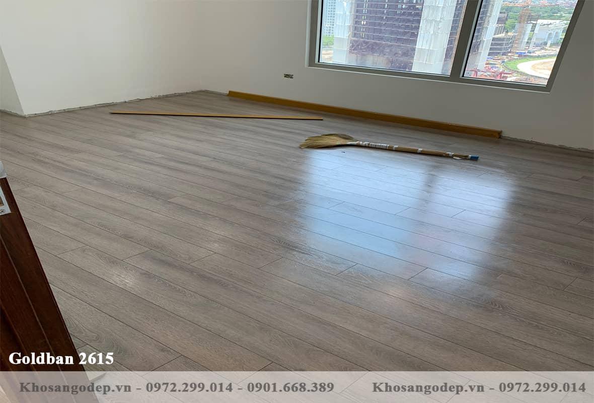 Sàn gỗ Goldbal 2615 12mm