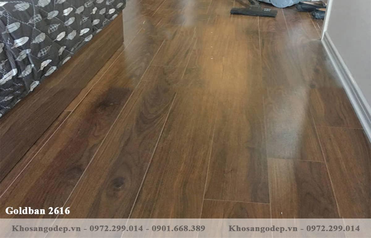 Sàn gỗ Goldban 2616