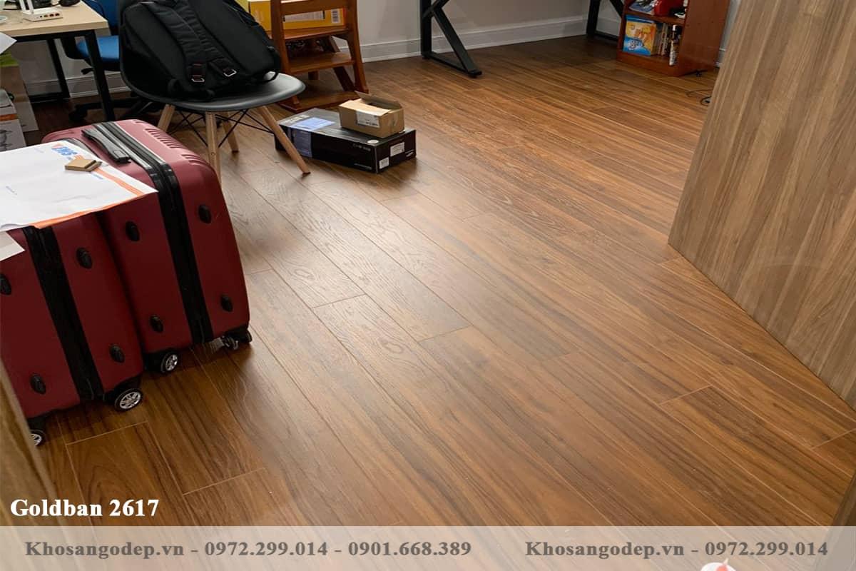 Sàn gỗ Goldbal 2617 12mm