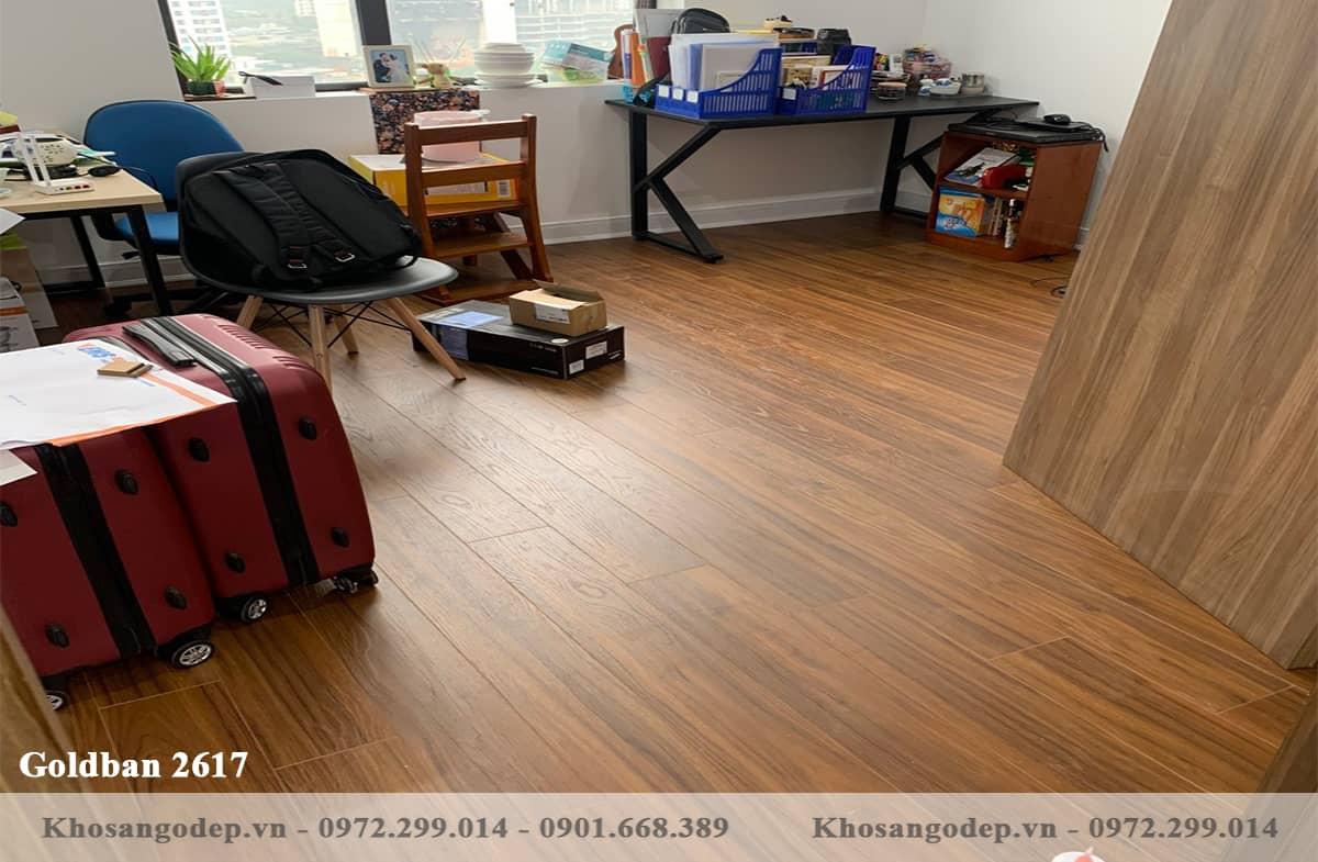 Sàn gỗ Goldban 2617