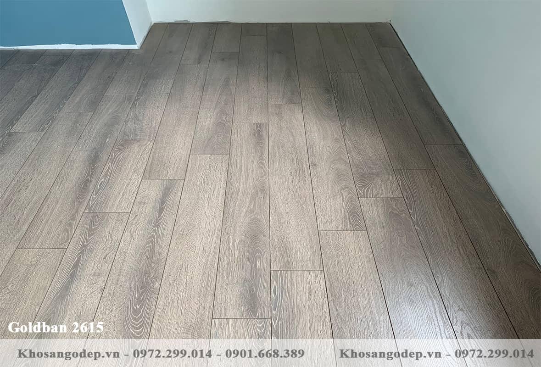 Sàn gỗ indonesia Goldban 12mm