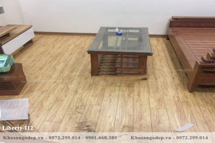Sàn gỗ Liberty 112 12mm
