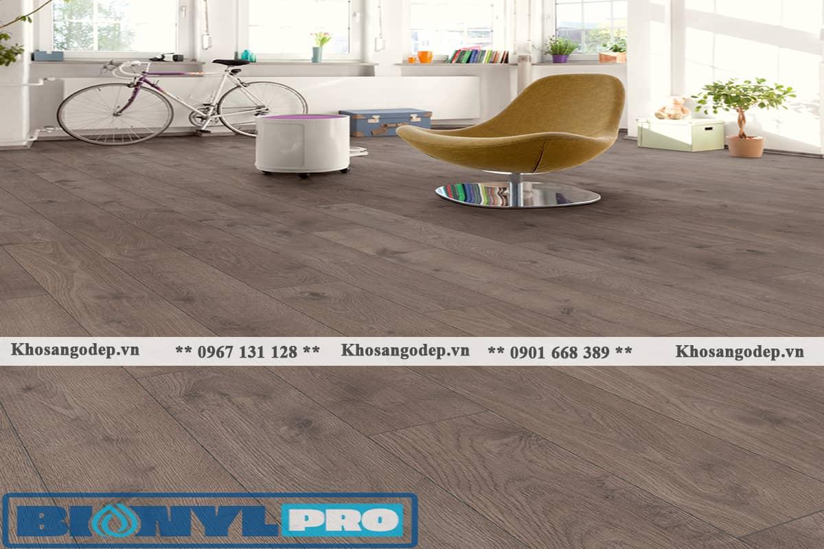 Sàn gỗ màu ghi xám