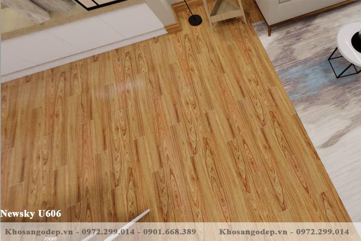 sàn gỗ Newsky 12mm U606