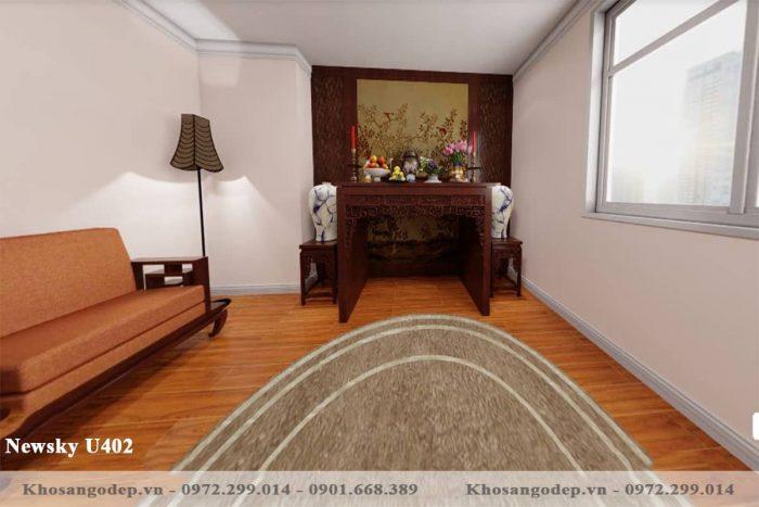 sàn gỗ Newsky U402