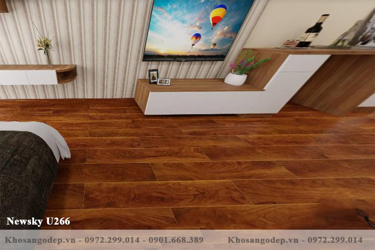 Sàn gỗ newsky U266