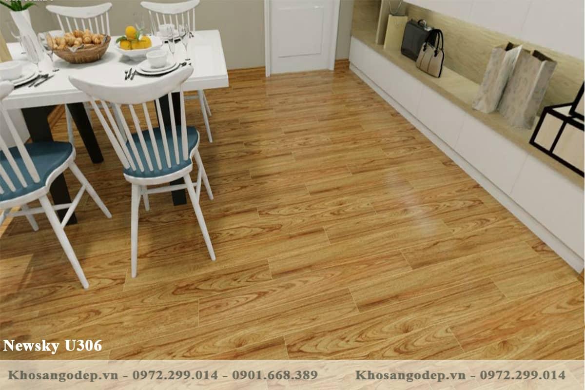 sàn gỗ Newsky U306 cốt xanh