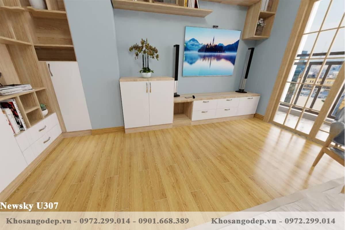 sàn gỗ Newsky U307 12mm