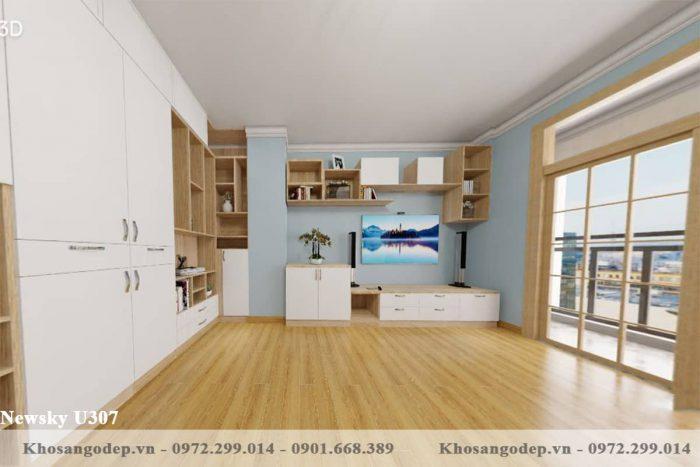 sàn gỗ Newsky U307