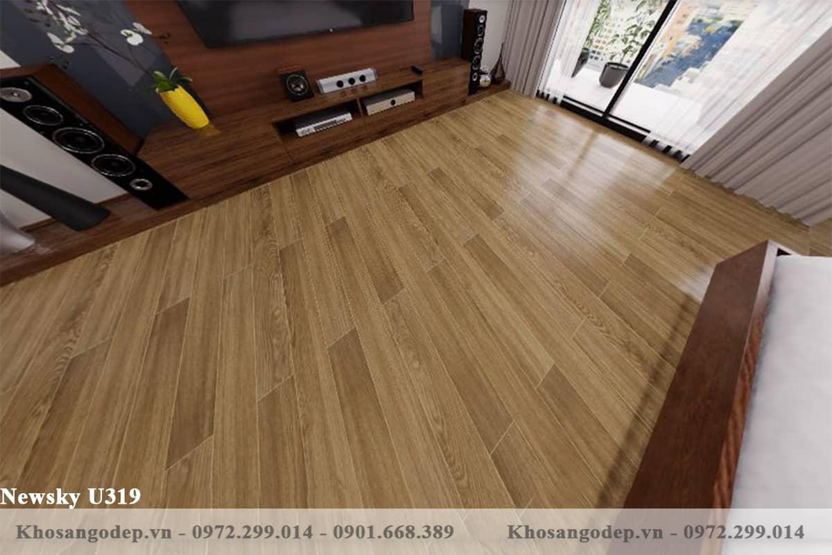 sàn gỗ Newsky U319