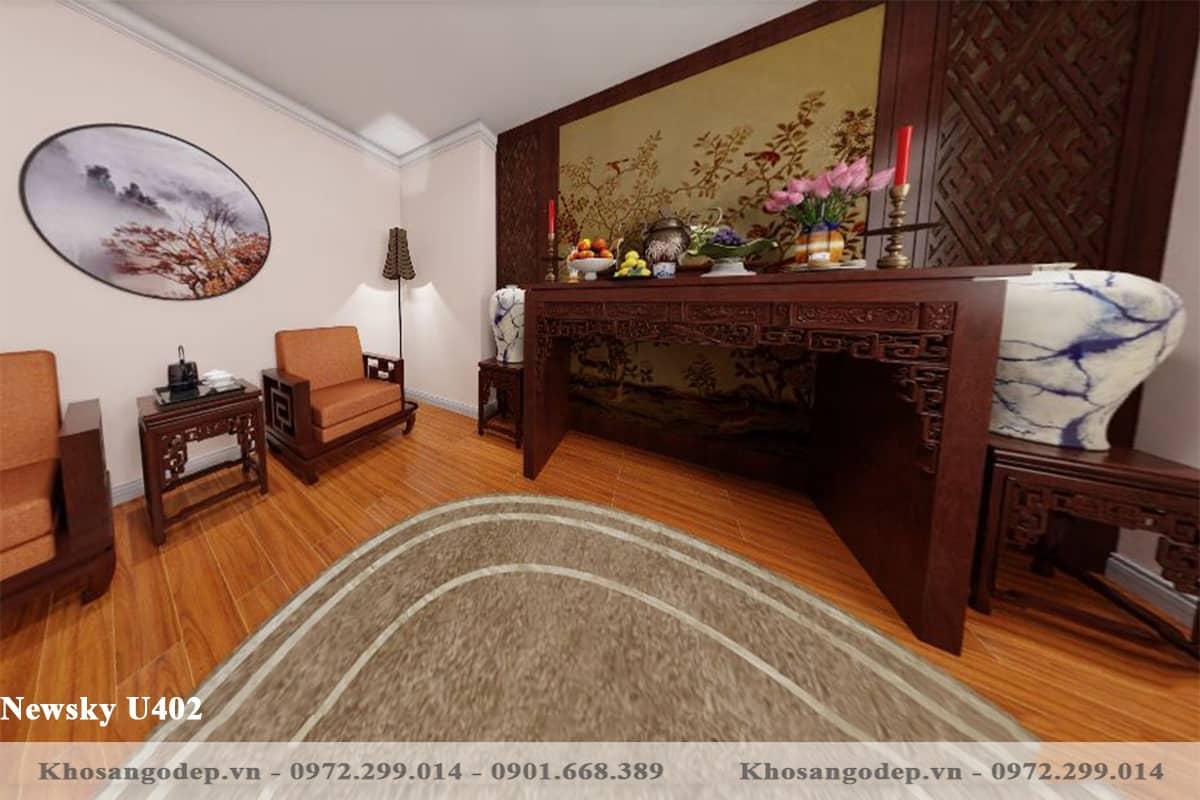 sàn gỗ Newsky U402 12mm