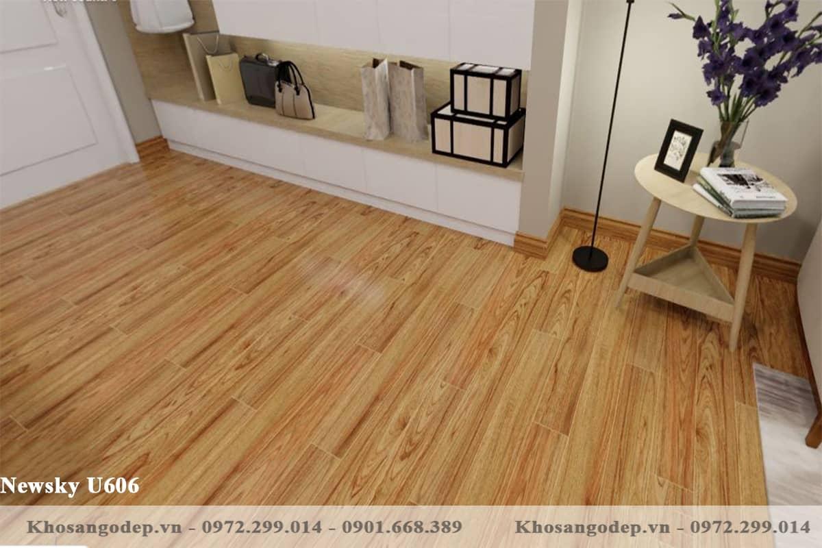 sàn gỗ Newsky U606 12mm