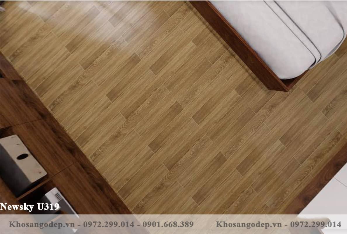 sàn gỗ Newsky cốt xanh U319